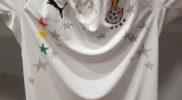 Maglia della nazionale del Ghana (collezione Simone Panizzi, foto Daniele Dei)