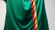 Maglia della nazionale di Grenada (collezione Simone Panizzi, foto Daniele Dei)