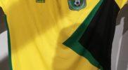 Maglia della nazionale della Guyana (collezione Simone Panizzi, foto Daniele Dei)