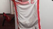 Maglia della nazionale della Tunisia (collezione Simone Panizzi, foto Daniele Dei)
