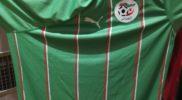 Maglia della nazionale dell'Algeria (collezione Simone Panizzi, foto Daniele Dei)