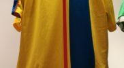 Maglia della nazionale dell'Ecuador (collezione Simone Panizzi, foto Daniele Dei)