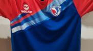 Maglia della nazionale della Repubblica Dominicana (collezione Simone Panizzi, foto Daniele Dei)