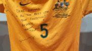 Maglia della nazionale dell'Australia (collezione Simone Panizzi, foto Daniele Dei)