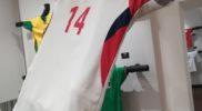 Maglia della nazionale di Cuba (collezione Simone Panizzi, foto Daniele Dei)