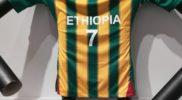 Maglia della nazionale dell'Etiopia (collezione Simone Panizzi, foto Daniele Dei)