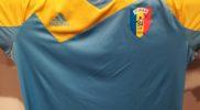 Maglia della nazionale del Ciad (collezione Simone Panizzi, foto Daniele Dei)