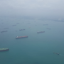 La rotta del commercio navale tra Singapore e l'Indonesia (foto Daniele Montecchi per Malatidigeografia.it)