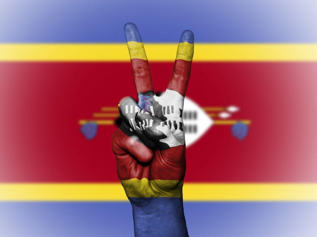 La bandiera dello Swaziland (ops, eSwatini...)