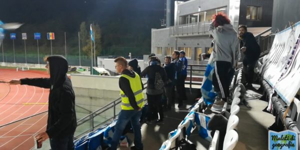 I tifosi della Brigata Mai Una Gioia (foto Daniele Dei e Christian Santini)