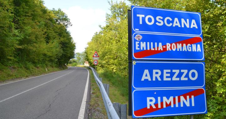 La più grande exclave interregionale italiana è Toscana in Romagna: Ca' Raffaello