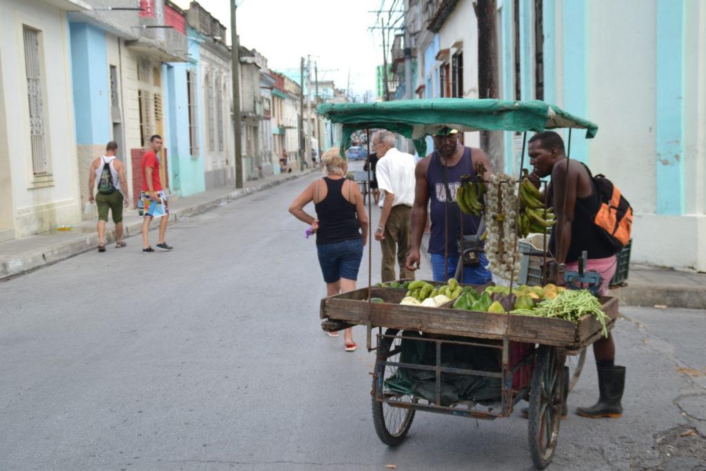 Un banco della frutta a Santa Clara, Cuba (foto Daniele Dei)