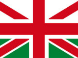 La bandiera del Galles è richiamata dal verde sulla parte inferiore, che si aggiunge alla croce di San Giorgio e a quella di Sant'Andrea, rosse su bianco.